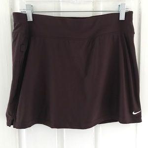 NikeDry Fit Skirt Skort Brown Sz Small Tennis